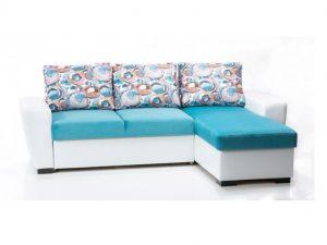 Ъглов диван с функция за сън