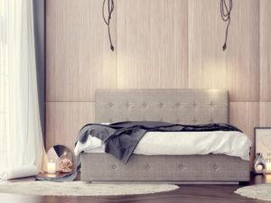 Тапицирано легло Santorini