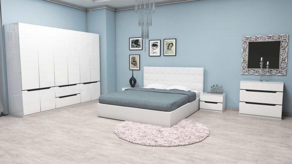 Спален комплект Аляска. Конфикурирай сам своята спалня