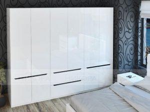 Модулна бяла спалня Аляска