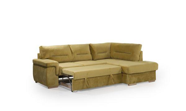 Ъглов диван Матера с функция за сън