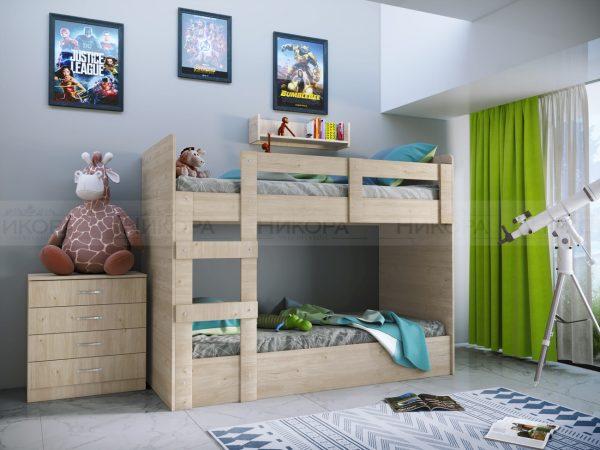 Детско двуетажно легло