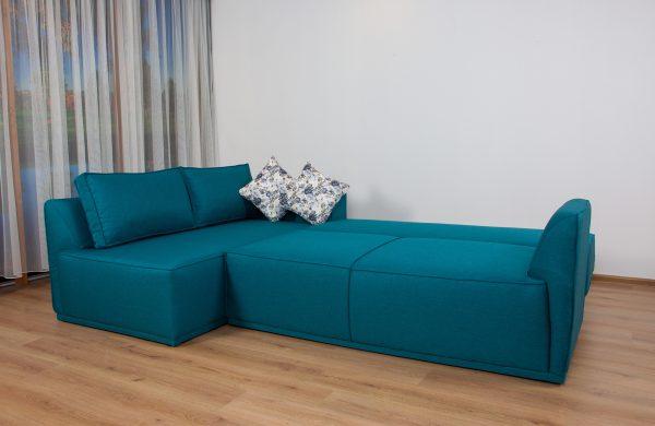 Ъглов диван Фиджи с функция сън