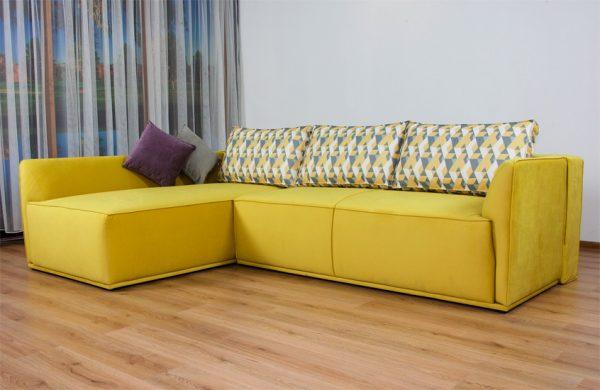 Холов ъгъл Фиджи жълт