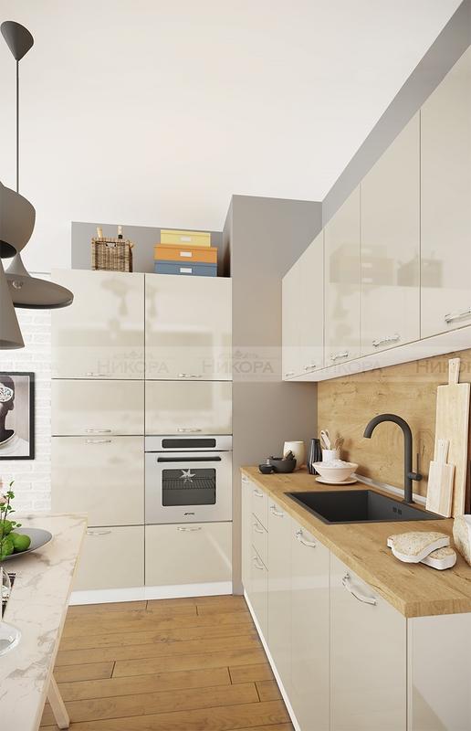 Модулна кухня City 931 с МДФ лице