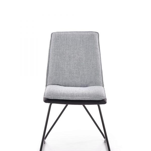 Стилен сив трапезен стол K 326
