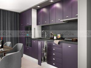 Модулна кухня City 892 с МДФ лице