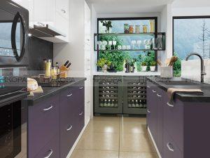 Модулна кухня City 893 с МДФ лице