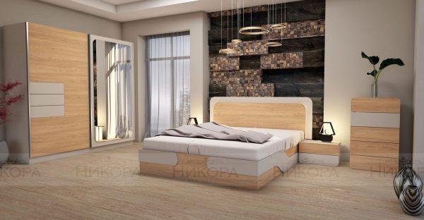 Спален комплект Каролина