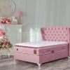 Тапицирано легло с матрак Visco Art