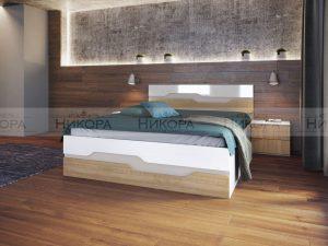 Легло с нощни шкафчета Million
