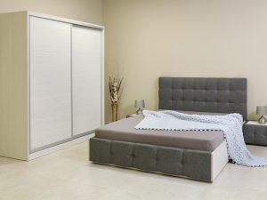 Спален комплект Manila с тапицирано легло