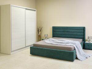 Спален комплект New York с тапицирано легло