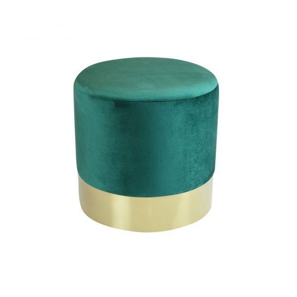 Табуретка Dino Gold зелена