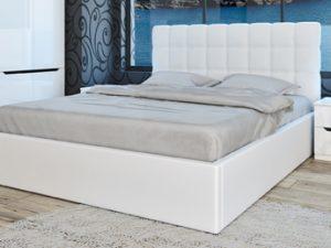 Тапицирано бяло легло Аляска