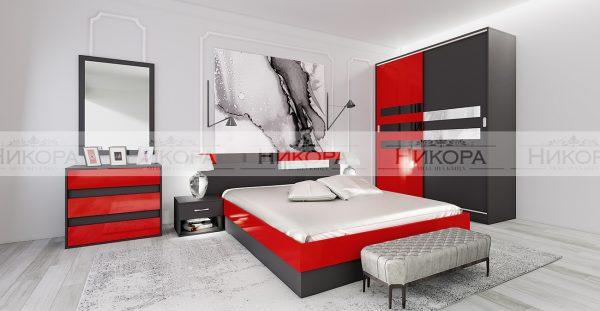 Спален комплект City 7050
