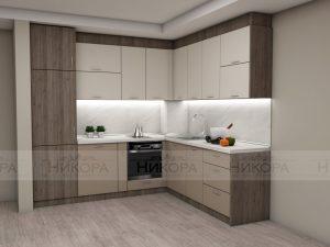 Кухня по проект от Мебелна къща Никора