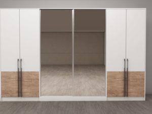 Модулна система Калифорния - конфигурация гардероби