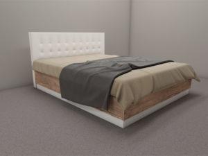 Модулна спалня Калифорния - легло