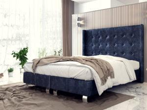 Тапицирано легло King