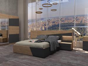 Спален комплект Тоскана 2 - модерен дизайн