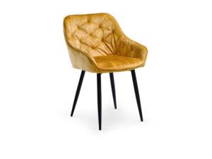 Трапезен стол KH 418 - жълт